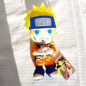 Naruto Plush Toy - Plushy New with Tags Intact